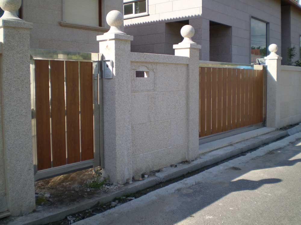 Cierres y estructuras confort ambiental - Portales de madera ...