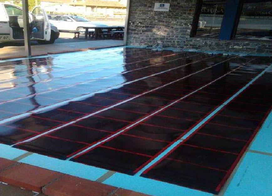 Confort ambiental instalaci n de suelo radiante - Instalacion suelo radiante ...